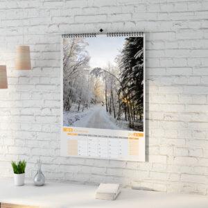 Календарь А3 настенный перекидной