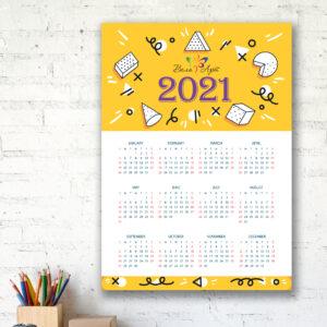 Календарь плакат А1 настенный