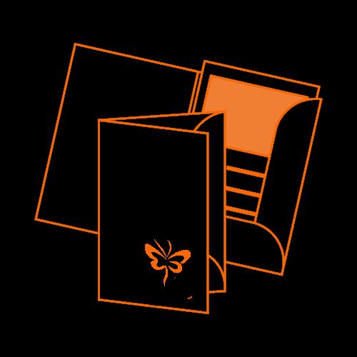 папка с логотипом