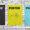 Постер на офсетной бумаге