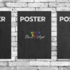 Постеры на крафтовой бумаге