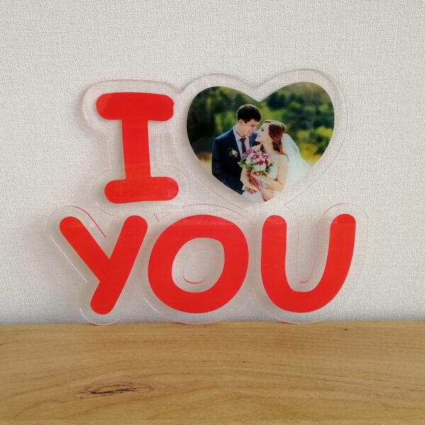 фотрамка i love you
