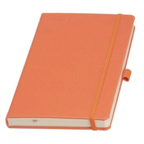 ежедневник оранжевый с резинкой