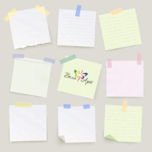 Печать блоков для записей